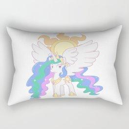 Princess Celestia Cutie Mark Charm Rectangular Pillow