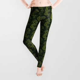 Jade Dragon Leggings
