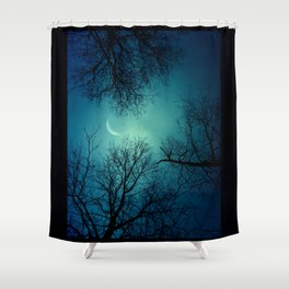 Goodnight And Goodbye Shower Curtain
