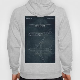 BOEING 787 - First flight 2009 Hoody