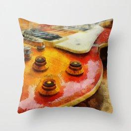 Les Paul Std 1958 Vos Throw Pillow