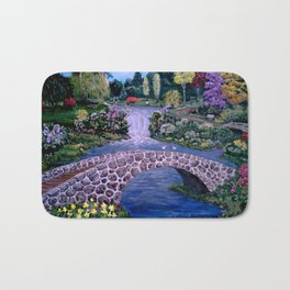 My Garden - by Ave Hurley Bath Mat