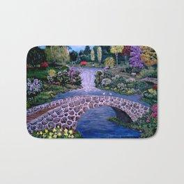 My Garden - by Ave Hurley Bath Mat