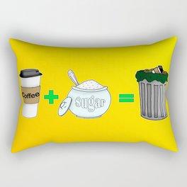 Coffee Math Rectangular Pillow