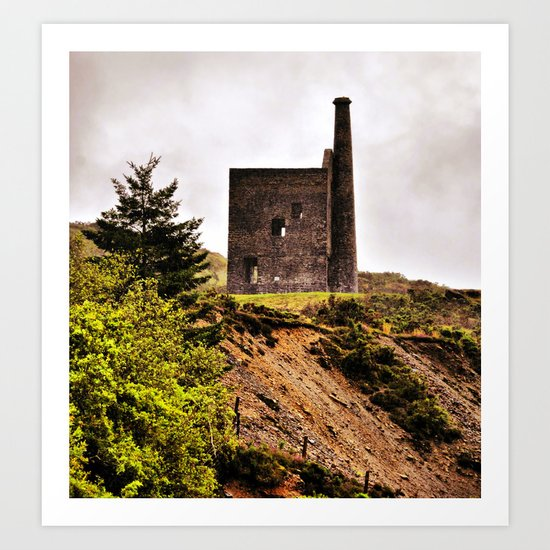 Cooper and Tin  Mine Art Print
