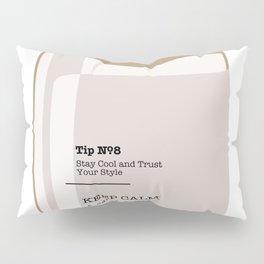 Tip in a Bottle №8 Pillow Sham