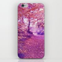 wander iPhone & iPod Skins featuring wander by Luiza Lazar