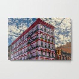 A pink building, New York City (2020-9-GNY-227) Metal Print