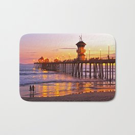 HB Sunset Picture Takers Bath Mat