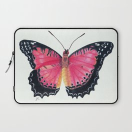 Red Lacewing Butterfly Laptop Sleeve