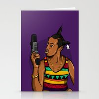 mcfreshcreates Stationery Cards featuring Loc'd Out by McfreshCreates