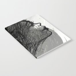 The Grey Tear Drop Notebook