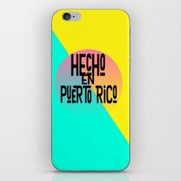 Hecho en Puerto Rico iPhone Skin