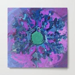 Abstract Mandala 305 Metal Print