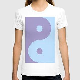 Yin Yang Purple Blue T-shirt