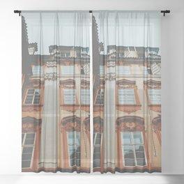 Pastel Prague Sheer Curtain