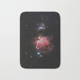 The Great Nebula in Orion Bath Mat