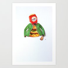 Normal Life · Happy Meal Art Print