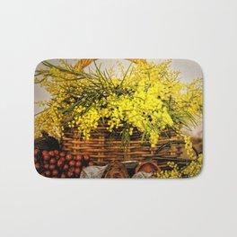 Golden Wattle Bath Mat