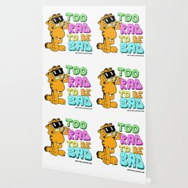 Too Rad to be Sad Garfield the Cat Wallpaper