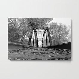 Pegram Truss Bridge - Ogden, Utah Metal Print