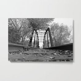 Pegram Truss Bridge - Ogden, Utah Metal Print