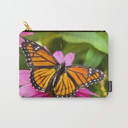Orange Viceroy Butterfly Carry-All Pouch