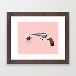 La Vie en Revolver Framed Art Print