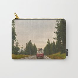Vanlife Travel Photography, Van Life, Forest, Wilderness Decor, Wanderlust Carry-All Pouch