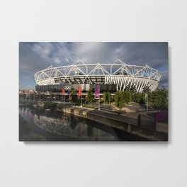 The Olympic Stadium Metal Print