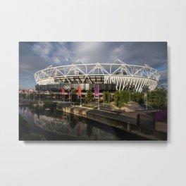 The Olympic Stadium Metal Print
