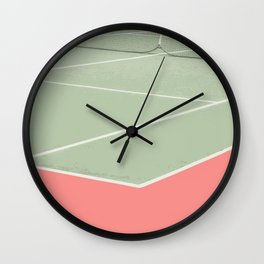 Tennis game Wall Clock