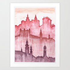 My cities Art Print