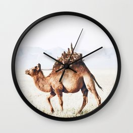 Moving City Wall Clock