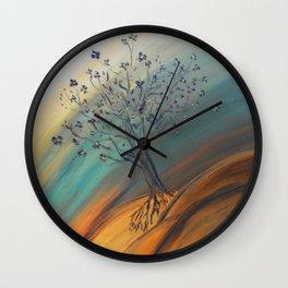 Roots Blazing Wall Clock