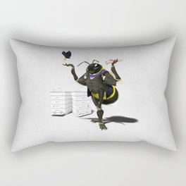 To Bee or Not Too Bee (Wordless) Rectangular Pillow