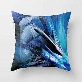 Segelschiff Throw Pillow