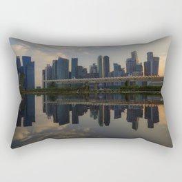 Singapore, Skyline Rectangular Pillow