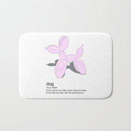Love dogs Bath Mat