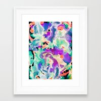 northern lights Framed Art Prints featuring Northern Lights by Amy Sia