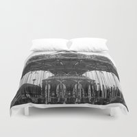 neverland Duvet Covers featuring Neverland by Zooey Petunia