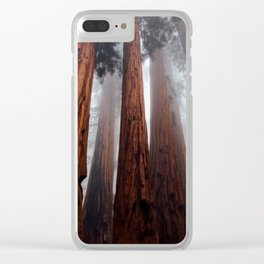 Woodley Forest Clear iPhone Case