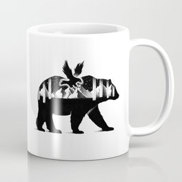THE BEAR AND THE EAGLE Coffee Mug