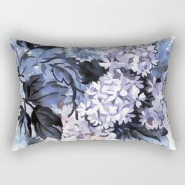 Ultra Violet Floral Rectangular Pillow