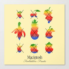 mac forbidden fruits Canvas Print