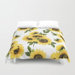 Lovely Sunflower Duvet Cover