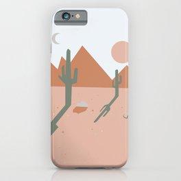High Desert Shadows iPhone Case