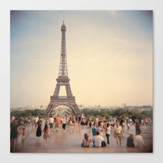 Tour Eiffel Canvas Print