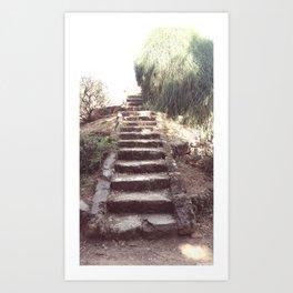 Stairway to..... Art Print