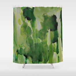 Green Envy Shower Curtain
